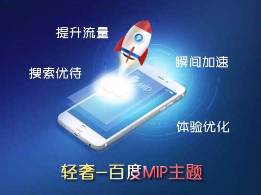 zblog百度MIP轻奢主题Lightlee给你极速体验