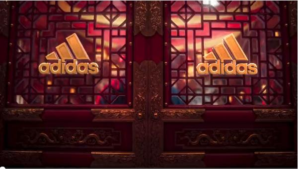 阿迪达斯新春广告,满满的中国风,太燃了!