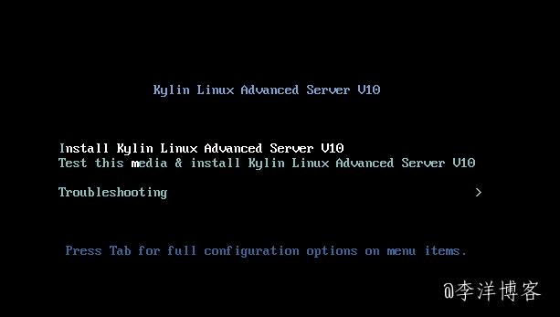 记录Windows系统改装银河麒麟服务器操作系统V10版本的图文教程 第4张